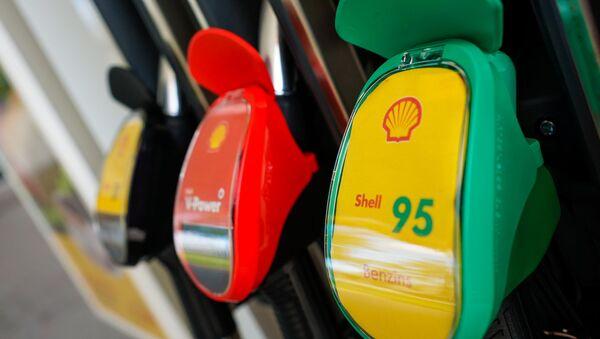 Заправка Shell в Риге - Sputnik Латвия