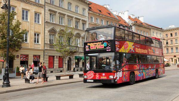 Улица Краковское Предместье в центре Варшавы - Sputnik Latvija