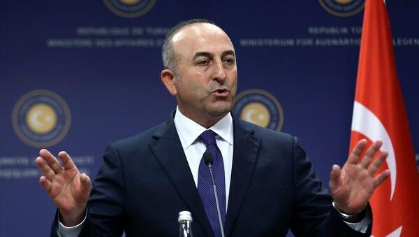 Министр иностранных дел Турции Мевлют Чавушоглу - Sputnik Latvija