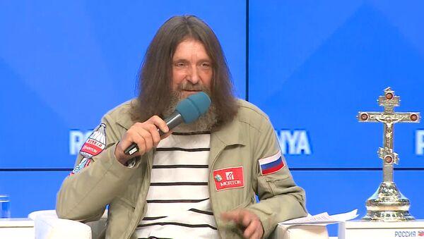 Пресс-конференция путешественника Федора Конюхова - Sputnik Латвия