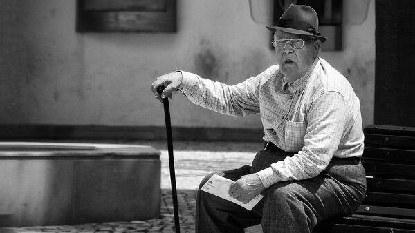 Пожилой мужчина - Sputnik Latvija