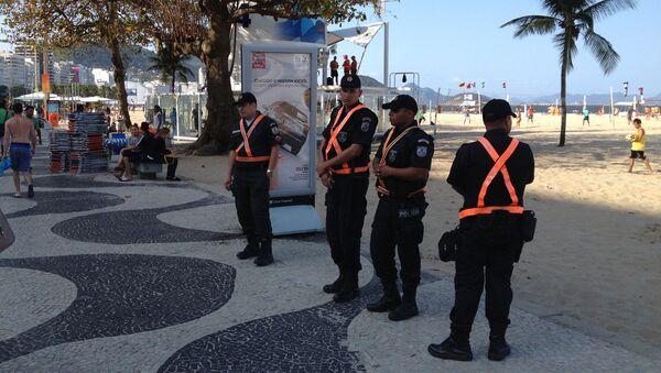 Полиция в Рио-де-Жанейро. - Sputnik Латвия
