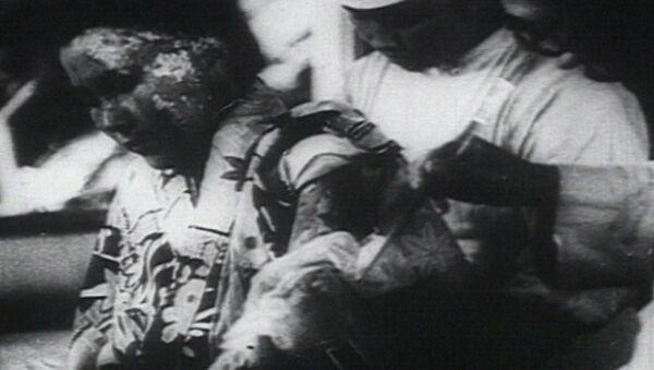 Трагедия Хиросимы: атомный взрыв 6 августа 1945 года - Sputnik Latvija