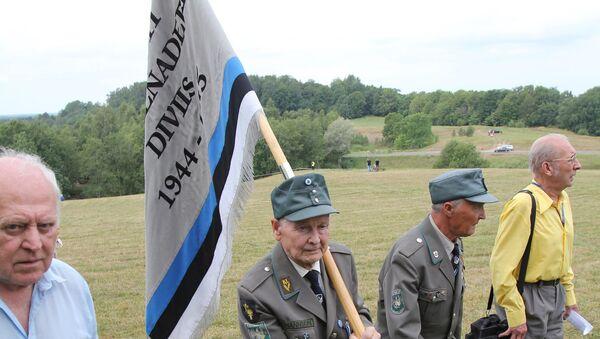 Сбор ветеранов 20-й гренадерской дивизии СС в Эстонии. - Sputnik Latvija