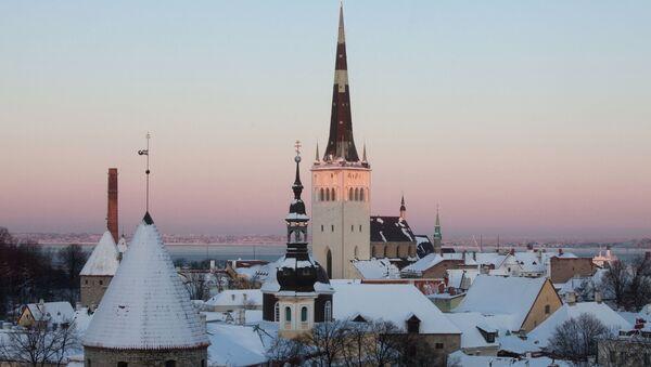 Исторический центр Таллина - Старый город. Архивное фото - Sputnik Латвия