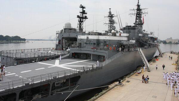 Японский корабль JS Kashima - Sputnik Латвия