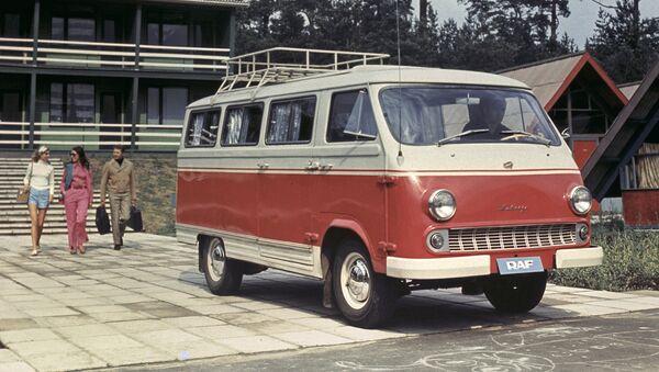 Советский автобус РАФ-977 ДМ Латвия - Sputnik Латвия