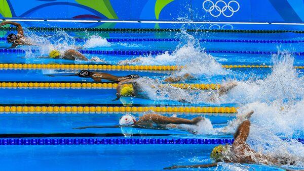 Олимпиада 2016. Плавание. Пятый день - Sputnik Latvija