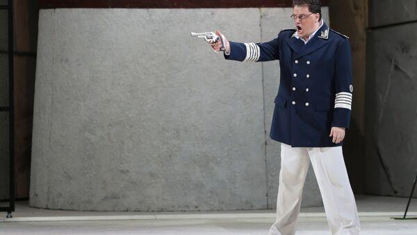 Репетиция спектакля Отелло в Мариинском театре - Sputnik Латвия