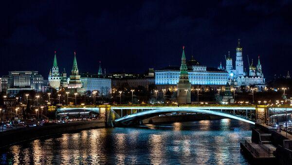 Вид на Московский Кремль - Sputnik Latvija