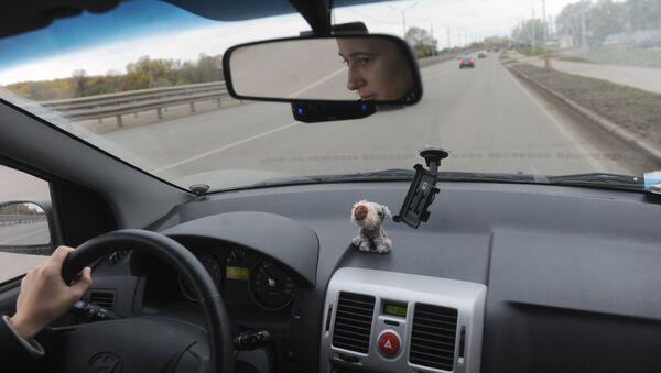 Водитель за рулем - Sputnik Латвия