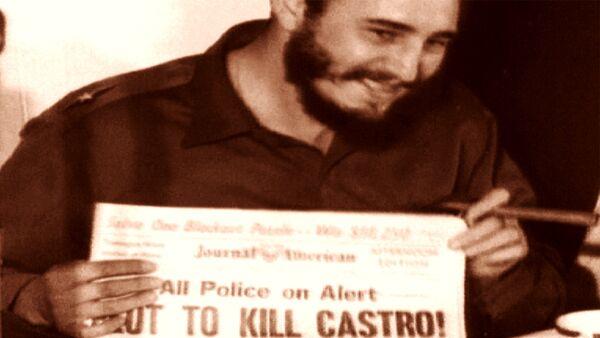 Фидель Кастро как зеркало кубинской революции. Кадры из архива - Sputnik Latvija