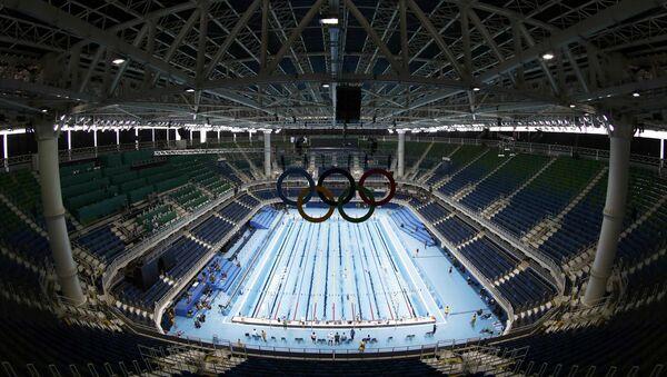 Олимпийский бассейн в Рио - Sputnik Латвия