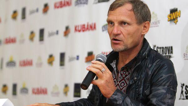Лидер группы Вопли Видоплясова Олег Скрипка - Sputnik Latvija
