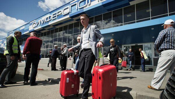 Международный аэропорт Симферополь - Sputnik Латвия