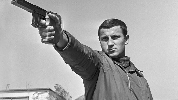 Член олимпийской команды по стрельбе Афанасий Кузьмин - Sputnik Latvija