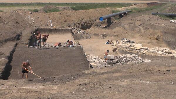 Древнегреческая крепость в Крыму – археологи нашли фрагменты античной постройки - Sputnik Латвия