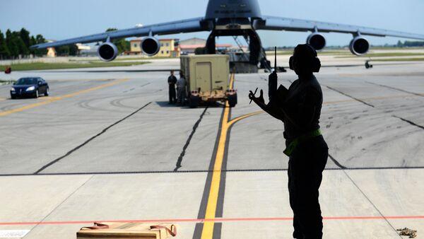 Военнослужащие США на авиабазе Инджирлик, Турция - Sputnik Латвия