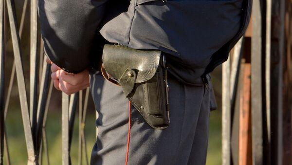 Milicijas darbinieks. Foto no arhīva - Sputnik Latvija