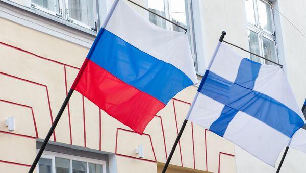Флаги России и Финляндии. - Sputnik Латвия