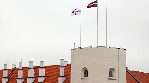 Флаги на Рижском замке - Sputnik Латвия