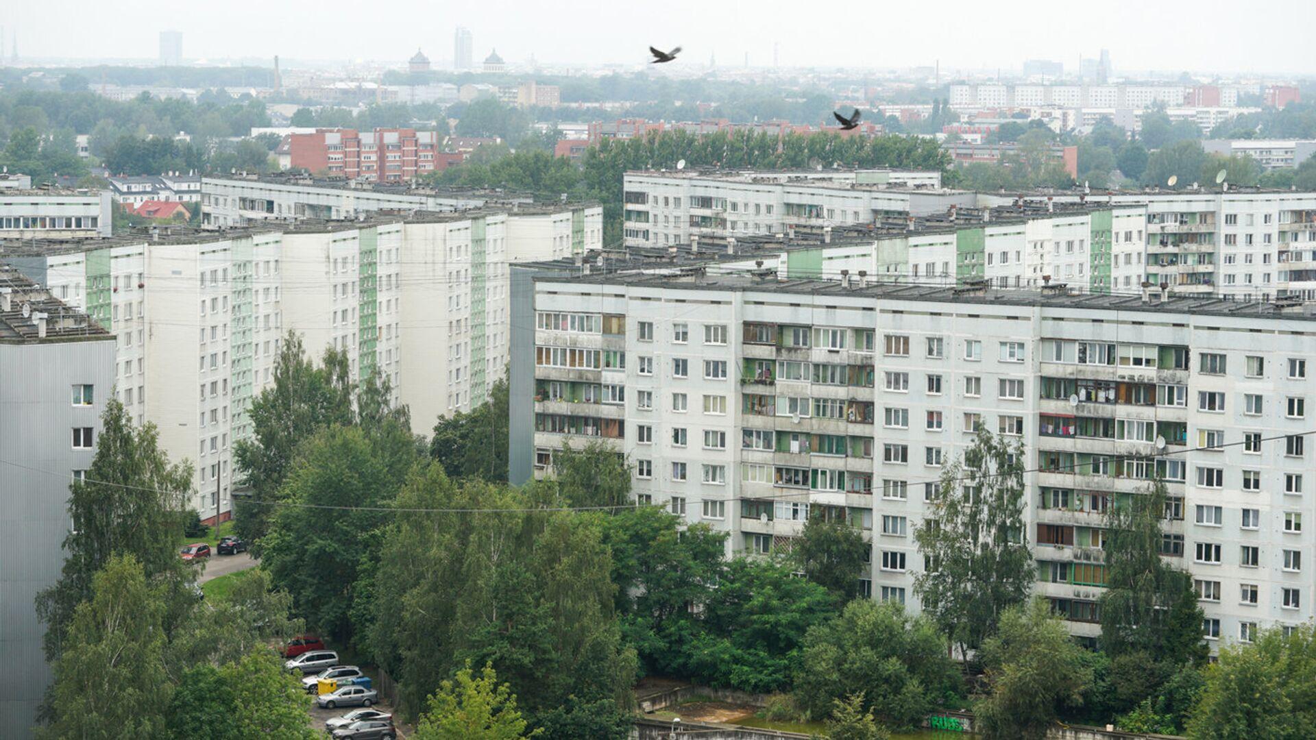 Спальный район Плявниеки - Sputnik Latvija, 1920, 28.04.2021