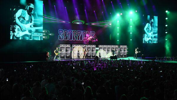Группа Scorpions исполнила в Грузии свои лучшие хиты - Sputnik Latvija
