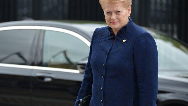 Lietuvas prezidente Daļa Gribauskaite - Sputnik Latvija