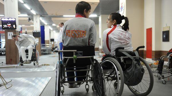 Российские паралимпийцы. Архивное фото - Sputnik Латвия