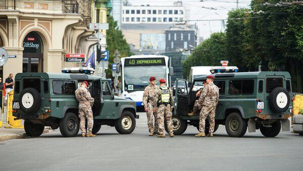 Latvijas militārā policija - Sputnik Latvija