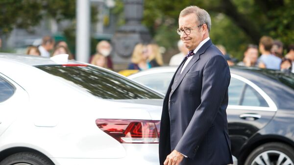 Экс-президент Эстонии Тоомас Хендрик Ильвес - Sputnik Латвия