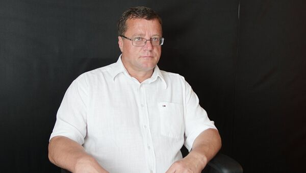 Глава Паралимпийского комитета Белоруссии Олег Шепель - Sputnik Latvija