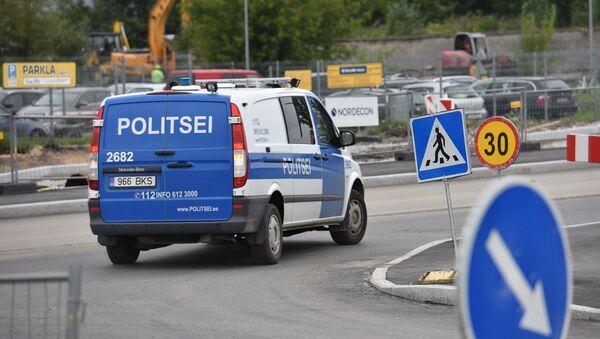 Policijas mašīna. Ilustratīvs attēls - Sputnik Latvija
