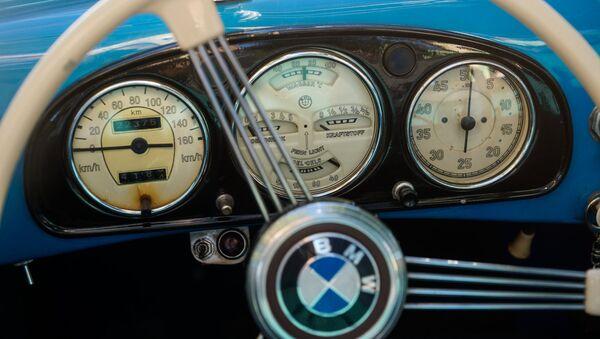 Приборная панель кабриолета BMW - Sputnik Латвия