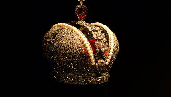 Экспонат алмазного фонда России - Sputnik Латвия