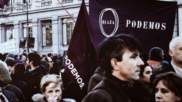 Партия Podemos - Sputnik Латвия