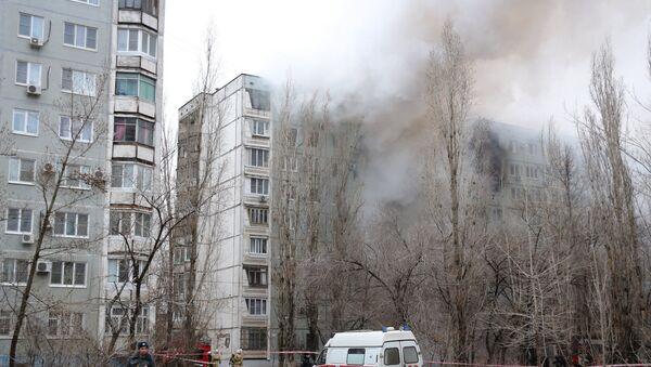 Взрыв бытового газа в многоэтажном доме в Волгограде - Sputnik Латвия