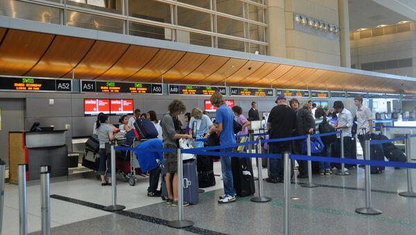 Международный аэропорт Лос-Анджелеса. США - Sputnik Латвия