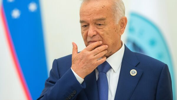 Президент Узбекистана Ислам Каримов - Sputnik Латвия