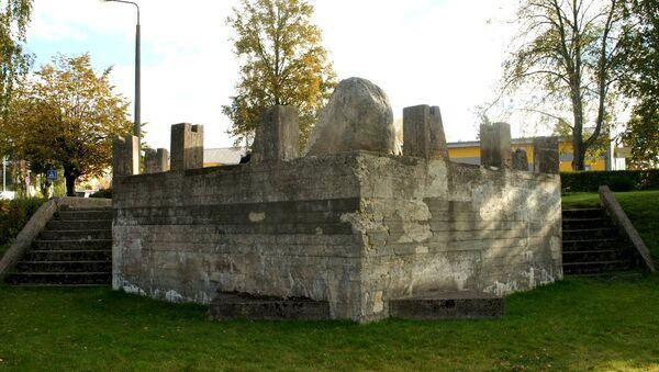 Памятник советским морякам в Лимбажи - Sputnik Latvija