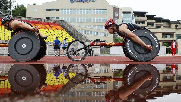 Krievijas paralimpiskās izlases sportisti. Foto no arhīva - Sputnik Latvija