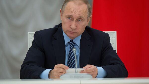 Krievijas prezidents Vladimirs Putins. Foto no arhīva - Sputnik Latvija