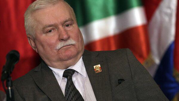 Экс-президент Польши Лех Валенса - Sputnik Латвия