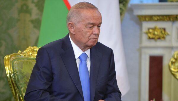 Uzbekistānas prezidents Islams Karimovs. Foto no arhīva - Sputnik Latvija