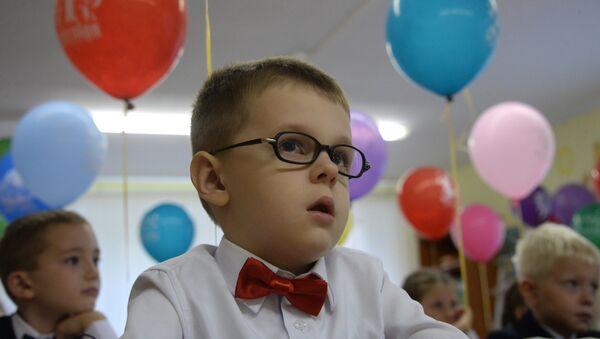 Начало учебного года в школах - Sputnik Latvija