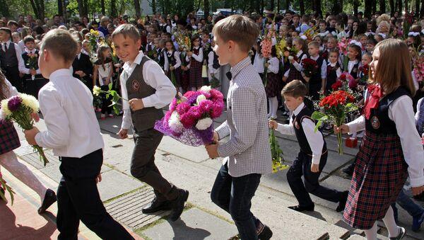 Jaunais mācību gads - Sputnik Latvija