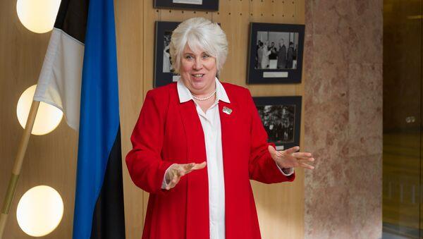 Igaunijas ārlietu ministre Marina Kaljurande. Foto no arhīva - Sputnik Latvija