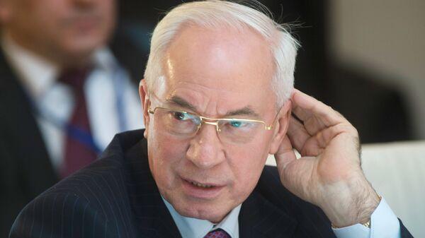 Бывший премьер-министр Украины Николай Азаров - Sputnik Latvija