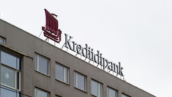 Igaunijas banka Krediidipank - Sputnik Latvija