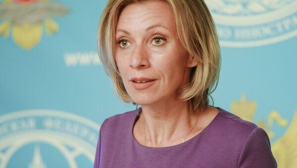 Krievijas Ārlietu ministrijas oficiālā pārstāve Marija Zaharova. Foto no arhīva - Sputnik Latvija